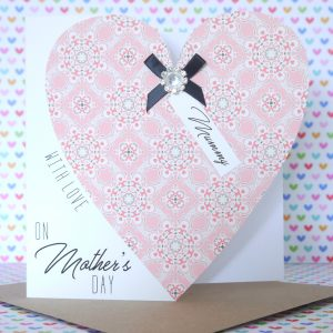 Personalised Handmade Mother's Day Card